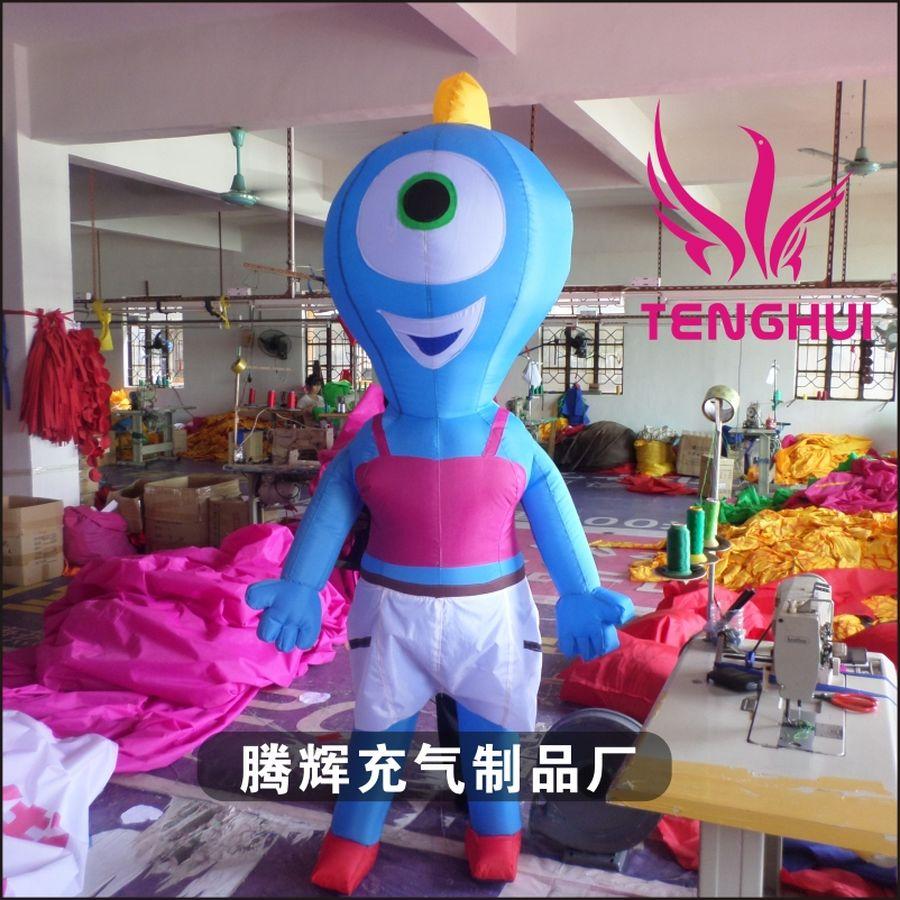 东莞腾辉 专业加工定制行走卡通 物美价廉
