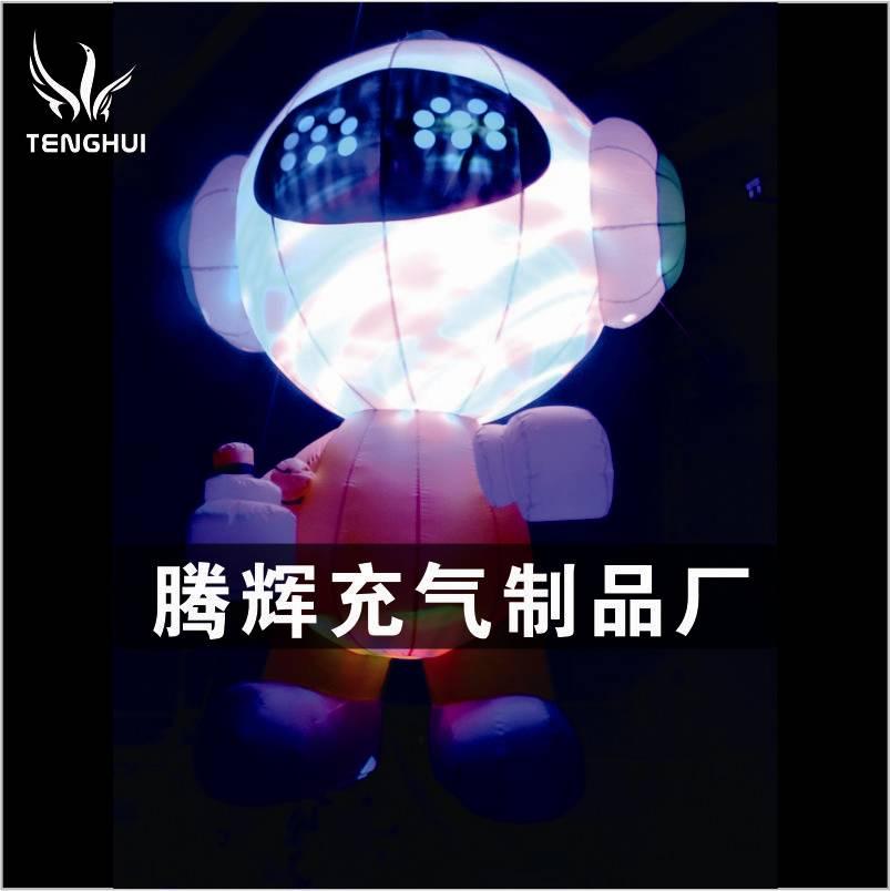 LED卡通气模 LED充气卡通模型 LED卡通娃娃